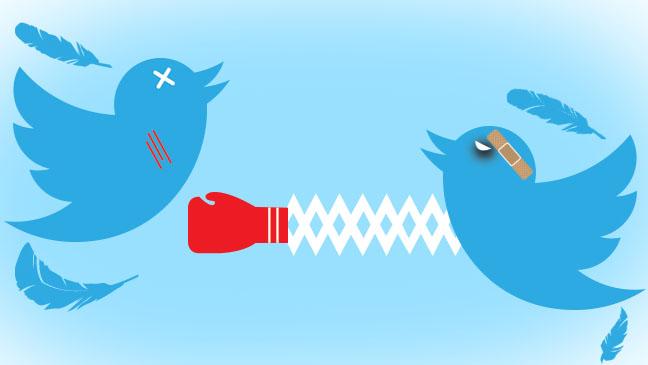 Twitter war
