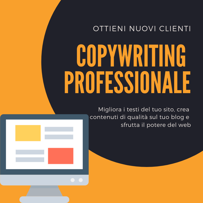Copywriting professionale
