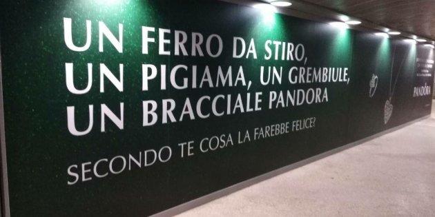 Pandora pubblicità sessista
